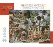 Pomegranate Puzzle - 1000 darabos - AA1032 - Benozzo Gozzoli - The Journey of the Magi
