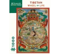 Pomegranate Puzzle - 1000 darabos - AA553 - Tibetan Wheel of Life