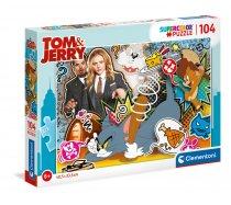 Clementoni - 104 darabos SuperColor - 27515 - Tom és Jerry