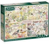 Falcon - 1000 darabos - 11307 - The Country Diary 4 Seasons
