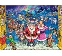Jumbo Wasgij - 1000 darabos - 25003 - Wasgij Christmas 17 - Elf Inspection