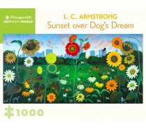 Pomegranate Puzzle - 1000 darabos - AA1090 - Sunset over Dog's Dream