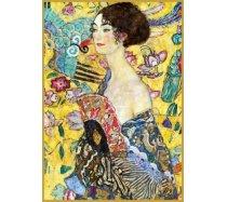 Piatnik - 1000 darabos - 552748 - Klimt - Hölgy Legyezővel