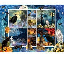 Sunsout - 1000 darabos - 55926 - Finchley Paper Arts - Halloween Stamps Spooky