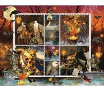 Sunsout - 1000 darabos - 55924 - Halloween Stamps - Skeleton Dance