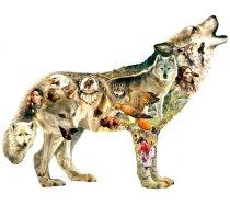 Sunsout - 750 darabos - 96049 - Greg Giordano - Native American Wolf
