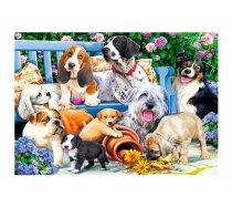 Trefl - 1000 Pieces -10556- Dogs in the Garden
