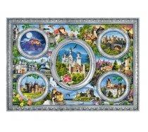 Trefl - 1000 darabos -10583- Castles of the World