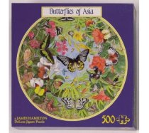 JHG Puzzles - 500 darabos - Butterflies of Asia
