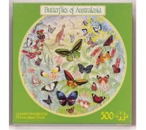 JHG Puzzles - 500 darabos - Butterflies of Australasia