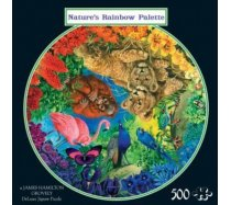 JHG Puzzles - 500 darabos - Nature's rainbow palette