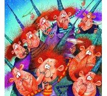 Grafika - 1500 darabos -02157 - Francois Ruyer - Witches