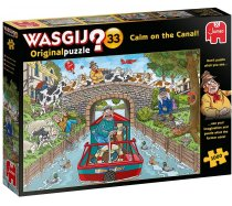 Jumbo Wasgij - 1000 darabos - 19173 - Wasgij Original 33 - Calm on the Canal!