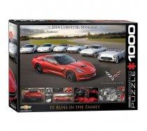 Eurographics- 1000 darabos- 6000- 0736- 2014 Chevrolet Corvette Stingray