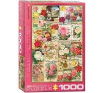 Eurographics- 1000 darabos - 6000-0810 - Roses Seed Catalogue