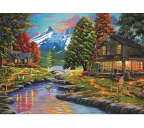 Art Puzzle - 2000 darabos - 4575 - Two Sides a Forest