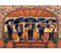 Art Puzzle - 500 darabos - 5082 - Flamenco Meow Team