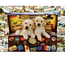 Bluebird - 1000 darabos -70237-P -Two Travel Puppies