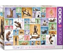 Eurographics - 1000 darabos -6000-0953 - Yoga Cats