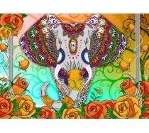 Bluebird - 2000 darabos -70002- Colorful Elephant
