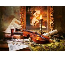 Castorland - 1000 darabos -103621- Still Life with Violin and Painting