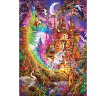 Art Puzzle-500 Darabos -5075- Rainbow Castle - Italy