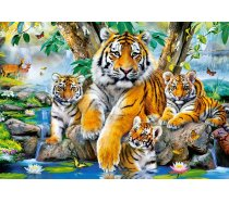 Castorland - 1000 darabos -104413 - Tigers by the Stream