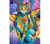 Castorland - 1500 darabos - 151448 - David Galchutt: Feline Fiesta
