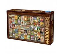 D-Toys - 1000 darabos -74362- Vintage Collage - Teas