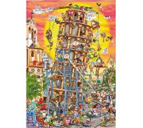D-Toys - 1000 darabos - 61218 - Cartoon Collection - Pisa Tower