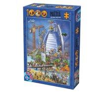 D-Toys - 1000 darabos -74690- Cartoon Collection - Burj Al Arab