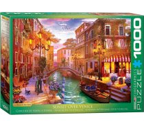 Eurographics - 1000 darabos -6000-5353 - Dominic Davison - Sunset over Venice
