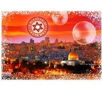 Grafika - 1000 darabos -00226 - Travel around the World - Israel