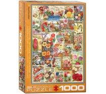 Eurographics - 1000 darabos -6000-0806 - Flowers Seed Catalogue