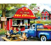 Sunsout - 1000 darabos -28858- Tom Wood - The Ice Cream Barn