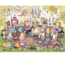 Gibsons - 1000 darabos - G6259 - Linda Jane Smith - Mad Catter's Tea Party