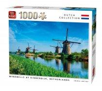 King - 1000 darabos - 55885 - Windmills Kinderdijk Netherlands