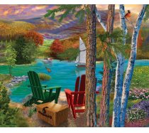 Sunsout - 1000 darabos -31514- Bigelow Illustrations - Lakeside View