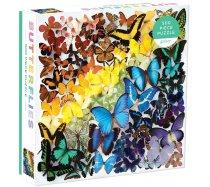 Galison - 500 darabos - Rainbow Butterfies