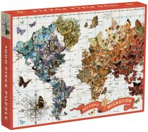 Galison - 1000 darabos - Wendy Gold - Butterfly Migration