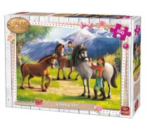 King - 100 Pieces -05298- Girls & Horses