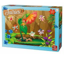 King - 50 Pieces -05803- Fairies with flower