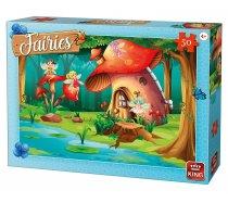 King - 50 Pieces -05804- Fairies - Fairy at home