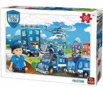 King - 50 Pieces -55840- Rescue Team -Police Team