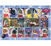 Perre-Anatolian - 1000 darabos - 1103 - Christmas Cats