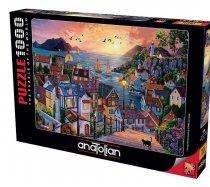 Perre-Anatolian - 1000 darabos - 1098 - Coastal Town at Sunset