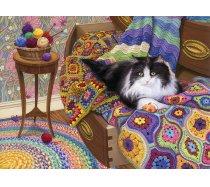 Cobble-Hill - 1000 darabos -80316 - Comfy Cat