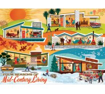 Cobble-Hill - 500 darabos -85093 - Four Seasons of Mid-Century Living