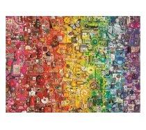 Cobble-Hill - 1000 darabos -80295 - Colourful Rainbow