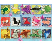 Cobble-Hill - 500 darabos -85083 - Origami Animals